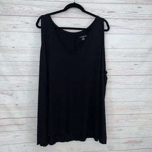 Lane Bryant Plus Size Tank 26/28 Black